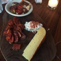Photo taken at Barcelona Wine Bar - South End by Gianna N. on 6/24/2015