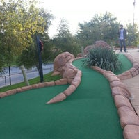 Photo taken at Lost Mountain Adventure Golf by Stephanie J. on 9/18/2012