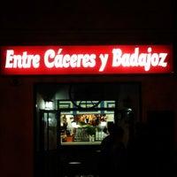 Foto tomada en Entre Cáceres y Badajoz por Manu A. el 4/19/2013