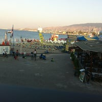 Photo taken at The Quick Corner Beach Restaurant by Emin T. on 7/13/2013