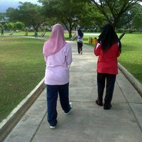 Photo taken at Lapangan Blang Padang by Aya Z. on 1/24/2013