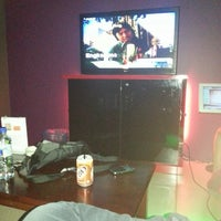 Photo taken at FireZone Family KTV by timie t. on 4/14/2013
