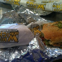 Photo taken at Which Wich? Superior Sandwiches by Crystal P. on 5/19/2013