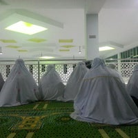 Photo taken at Masjid Al-Hijrah by SARAH H. on 7/9/2013