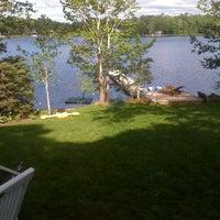 Photo taken at Shortts Lake by Anike on 8/6/2013