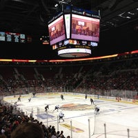 Photo taken at Veterans Memorial Coliseum by James B. on 11/3/2012