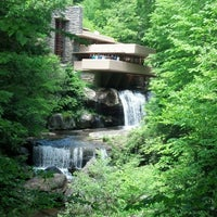 Photo taken at Fallingwater by Dixie C. on 5/25/2013