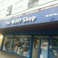 Photo taken at The Who Shop & Museum by Mar J. on 2/11/2017