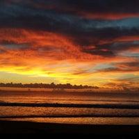 Photo taken at Baler Beach by Mar J. on 6/1/2013