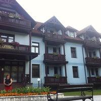 Photo taken at Villa František by Veronička on 7/29/2013