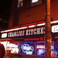 Photo taken at Charlie's Kitchen by Andrew T. on 2/7/2013