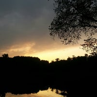 Photo taken at Malchower See by Thomas S. on 8/25/2014