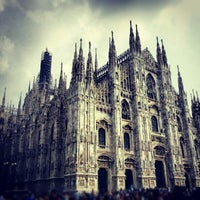 Photo taken at Milan Cathedral by Anh P. on 10/6/2012