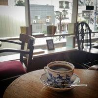 Photo taken at Hyaqtoh Coffee by Akira M. on 9/19/2014