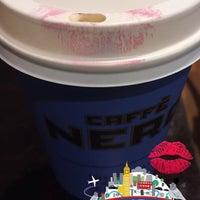 Photo taken at Caffè Nero by Peachy A. on 10/14/2015