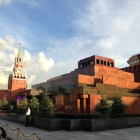Photo taken at Lenin's Mausoleum by Vl C. on 7/24/2013