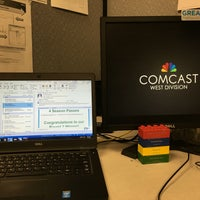 Photo taken at Comcast by Chris E. on 7/8/2016
