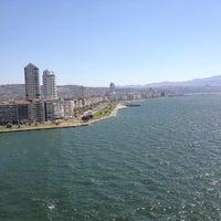 Photo taken at İzmir Körfezi by Serra Ç. on 8/6/2013