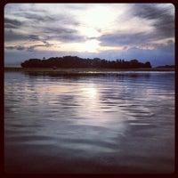 Photo taken at Nusa Dua Beach by Basha P. on 12/31/2012