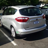 Photo taken at San Leandro Ford Lincoln by Frances B. on 8/2/2014