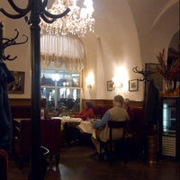 Photo taken at Cafe Frauenhuber by Olivier K. on 9/30/2013