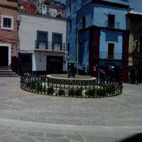 Photo taken at Plazuela de los Ángeles by Miguel G. on 7/1/2013