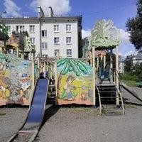 Photo taken at детская площадка на малой by Анашок on 7/16/2014