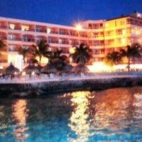 Photo taken at El Cozumeleño Beach Resort by Juan Diego C. on 7/28/2013
