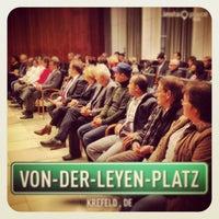 Photo taken at Rathaus Krefeld by Manuel K. on 11/19/2013