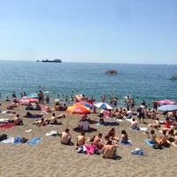 Photo taken at Kapuz Plajı by Mert E. on 5/26/2013