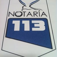 Photo taken at Notaria 113 by Roberto G. on 10/4/2013