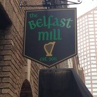 Photo taken at Belfast Mill Irish Pub by Chris W. on 7/27/2013