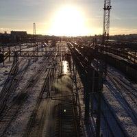 Photo taken at Мясновский мост by Ed K. on 12/30/2013