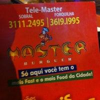 Photo taken at Master Burger by Thomaz Vasconcelos T. on 7/18/2013