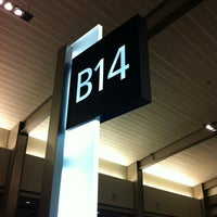 Photo taken at Gate B14 by Phillip U. on 3/13/2013