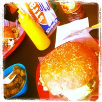 Photo taken at Chelos Burger & More by JuanRo K. on 7/29/2013