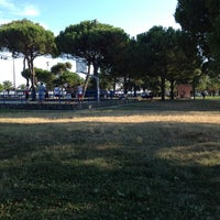 Photo taken at Parco Tigullio by Massimo M. on 8/14/2013