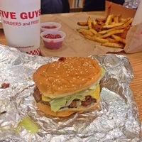 Photo taken at Five Guys by Jenny V. on 11/14/2013
