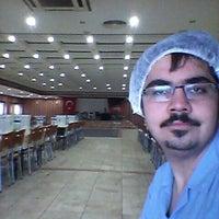 Photo taken at Saraykoy Belediyesi cok Amacli Dugunlu Solonu by Bahri K. on 5/11/2014