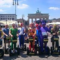 Das Foto wurde bei 'Berlins Best' SEGWAY Touren von Tourguide B. am 7/21/2016 aufgenommen