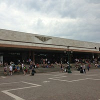 Photo taken at Venezia Santa Lucia Railway Station (XVQ) by Uncle A. on 7/10/2013
