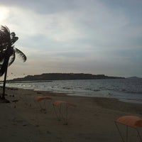 Photo taken at Playa Los Canales by Lenin R. on 4/4/2014