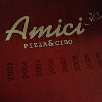 Photo taken at Amici Pizza & Cibo by Deia D. on 7/7/2013