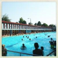 Photo taken at Csillaghegy strand by Halesz on 7/29/2013