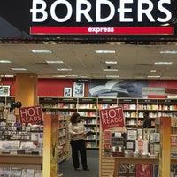 Photo taken at Borders Express by David C. on 10/1/2016