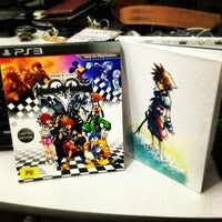 Photo taken at EB Games by Jerry H. on 9/12/2013