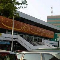Photo taken at Masjid Agung Baiturrahman Simpang 5,Semarang by Atik R. on 11/1/2014