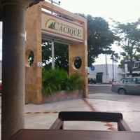 Photo taken at Cacique by Fer Casanova S. on 5/24/2013