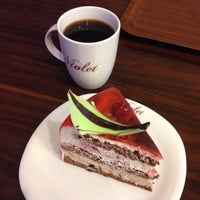 Photo taken at Caffe Violet by Eini T. on 10/21/2014