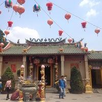 Photo taken at Chua ba Binh Duong by Amy C. on 2/18/2015
